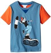 Little Marc Jacobs Jersey Tee Shirt Fancy Crocodile On Front (Toddler/Little Kids)