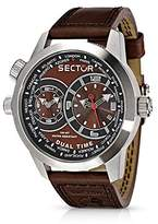 Sector Men's R3251102055 Urban Oversize Analog Stainless Steel Watch