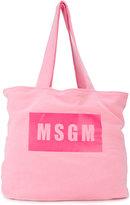 MSGM branded shoulder bag