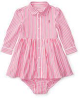Ralph Lauren Striped Pima Dress & Bloomer