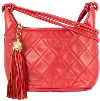Chanel Pre Owned 1989-1991 fringe CC cross-body bag