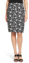 Women's Emerson Rose Floral Jacquard Pencil Skirt