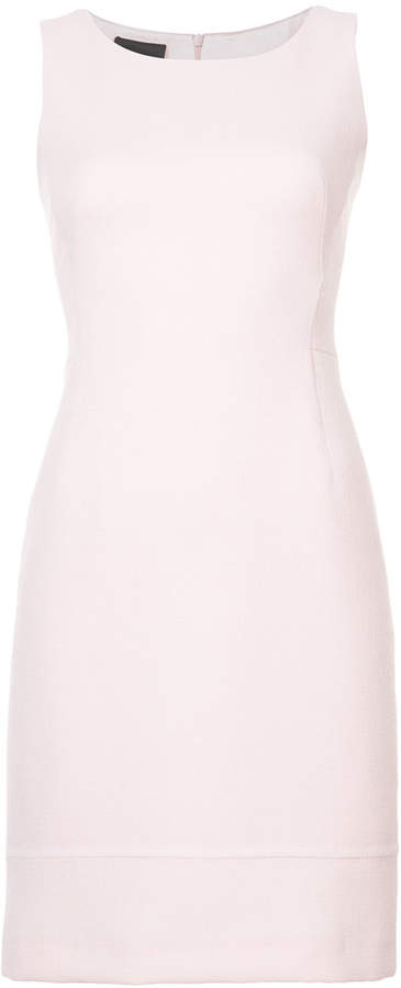Akris sleeveless fitted shift dress