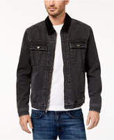 RVCA Men's Bando Black Denim Jacket