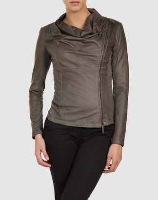 Emporio Armani Leather outerwear