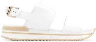 Hogan sling-back sandals