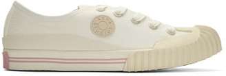 Acne Studios White Bla Konst Logo Patch Sneakers