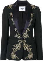 Dondup metallic embroidered blazer