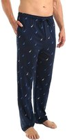 Nautica Sail Boats Icon 100% Cotton Plaid Sleep Pant (KP66S6) L/