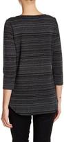 NYDJ Metallic Knit Shirt (Petite)