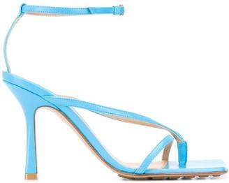 Bottega Veneta Ankle-Strap Stretch Sandals
