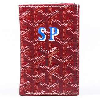 Goyard Red Cloth Wallets