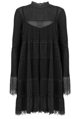 AllSaints Long-Sleeved Lace Briella Dress