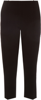Dion Lee Mid-rise cropped cady trousers