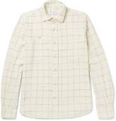 Incotex - Windowpane-checked Cotton-flannel Shirt