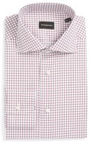 Ermenegildo Zegna Men's Regular Fit Check Dress Shirt