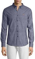 Farah Outwell Printed Cotton Sportshirt