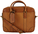 Polo Ralph Lauren Leather Commuter Bag, Cognac