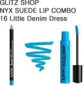 NYX GLITZ - SUEDE COMBO 16 Little Denim Dress
