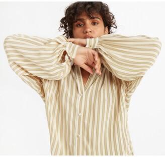 Levi's Long-Sleeved Striped Shirt
