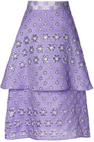 Roksanda Ilincic Preorder Violet Dacre Skirt