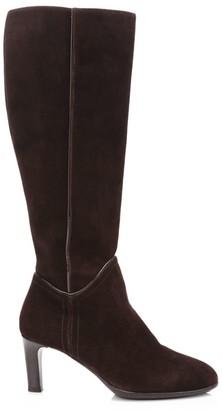 Aquatalia Devon Knee-High Suede Boots