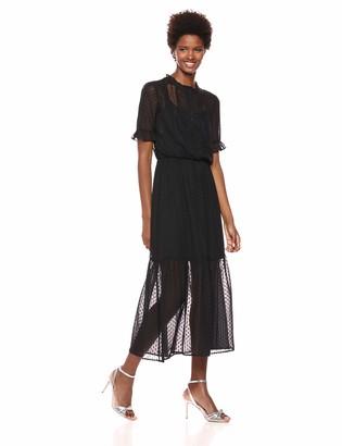 Kensie Dress Women's Black Maxi Dress 14