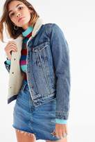 Levi's Levi's Denim Sherpa Trucker Jacket
