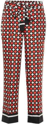 Max Mara S Obice printed silk pajama pants