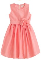 J.Crew Girls' silk taffeta Gillian dress
