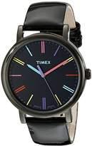 Timex Women's T2N790 Originals Patent Leather Strap Watch