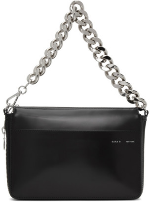 Kara Black Exploded Bike Wallet Bag