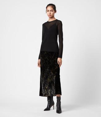 AllSaints Kelsie Peace 2-In-1 Dress