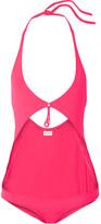 Eres Grigri Fortune Cutout Halterneck Swimsuit - Fuchsia