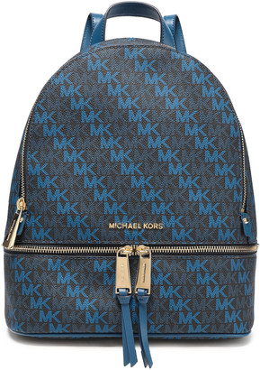 MICHAEL Michael Kors Rhea Logo-print Faux Leather Backpack