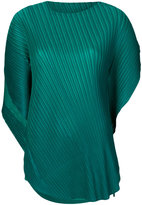 Pleats Please By Issey Miyake asymmetric pleated top