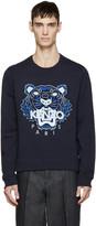 Kenzo Navy Tiger Logo Pullover