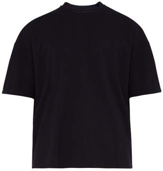 Deveaux - Heavyweight Jersey Crew-neck T-shirt - Mens - Navy
