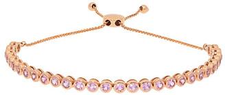 Nephora 14K Rose Gold 2.55 Ct. Tw. Sapphire Adjustable Bolo Bracelet
