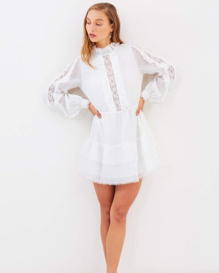 Stevie May Porcelain Long Sleeve Mini Dress
