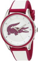 Lacoste Women's 'VICTORIA' Quartz Multi Color Casual Watch (Model: 2000927)