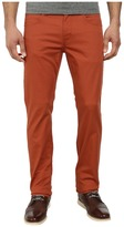 Hudson Byron Five-Pocket Straight Zip Fly in Rust