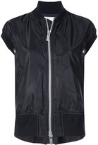 Sacai sleeveless bomber jacket