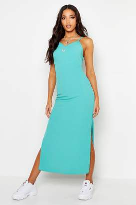 boohoo Woven Maxi Slip Dress