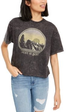 Junk Food Clothing Cotton West Is Best Graphic T-Shirt