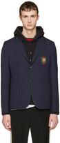 Gucci Navy Formal Cambridge Blazer