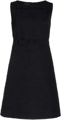 Giambattista Valli Bow-Detailed Boucle Mini Dress