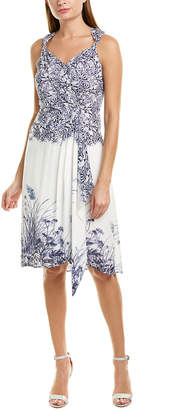 Elie Tahari Harlow A-Line Dress