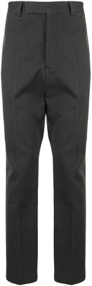 Rick Owens High-Waisted Pleated Trousers