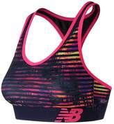 New Balance Bras: Pace Printed Medium-Impact Sports Bra WB71034